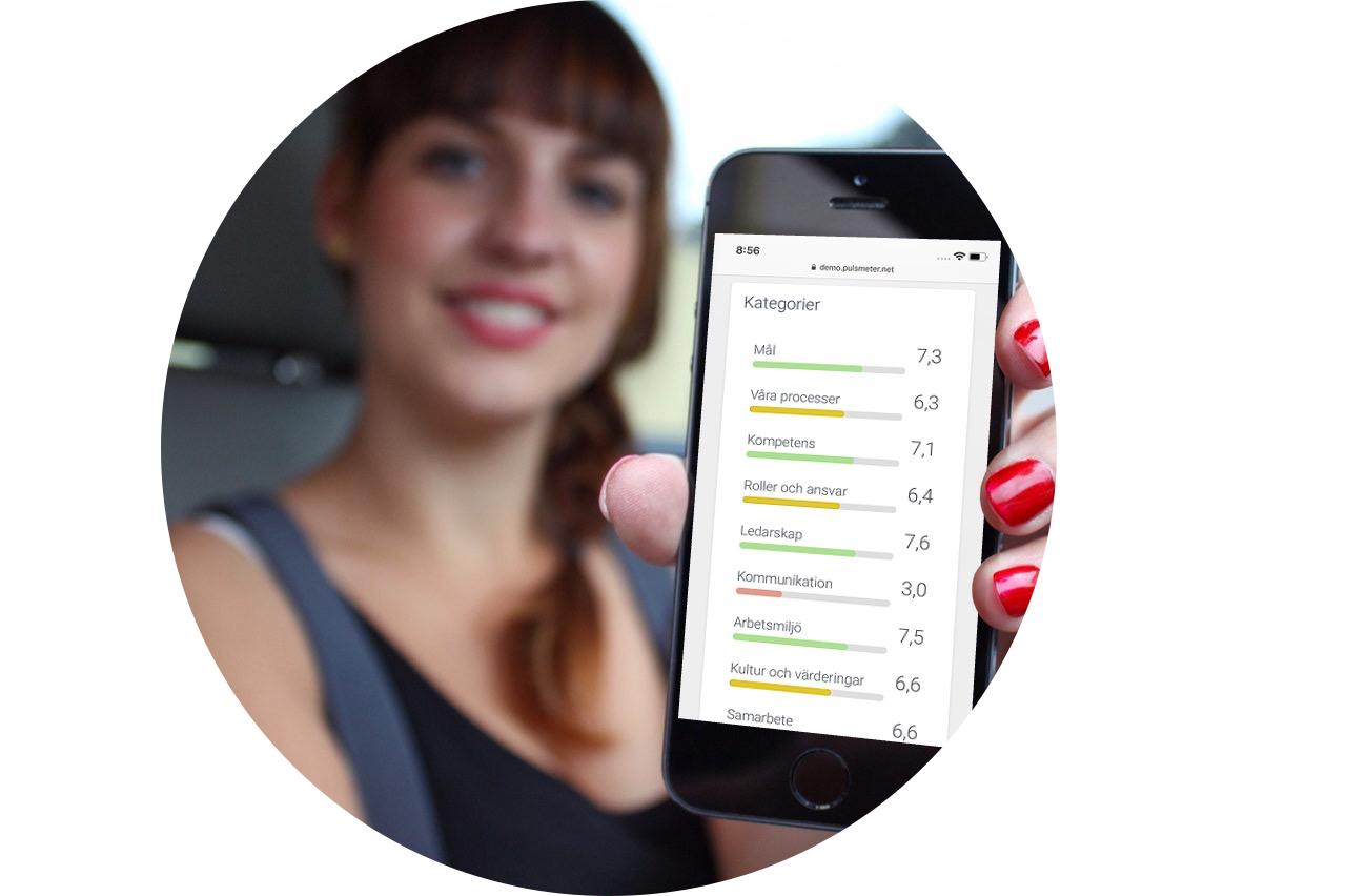 Puls Solutions pulsande medarbetarundersökning